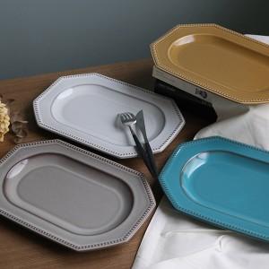プレート 29cm 美濃焼 コリーヌ Coline 皿 食器 磁器 日本製 ( プラター 大皿 電子レンジ対応 食洗機対応 リム皿 白 お皿 オーブン対応