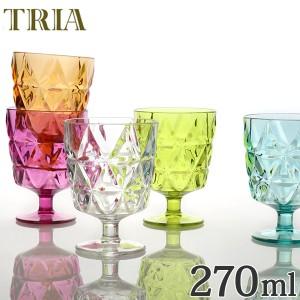 キントー KINTO ワイングラス トリア TRIA コップ 270ml  ( カップ 食器 食洗機対応 割れにくい プラスチック クリア プラスチック製