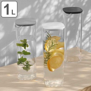 キントー KINTO 冷水筒 ピッチャー 1L OVA 水差し 1リットル 洗いやすい ウォーターカラフェ ( カラフェ アクリル製 麦茶ポット 冷水ポ