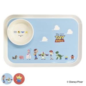 プレート&ボウルセット トイ・ストーリー 子供用食器 皿 食器 プラスチック キャラクター ( 大皿 角 トレー お盆 中鉢 セット ピクサー