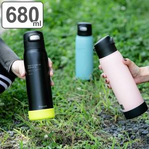水筒 ステンレス スポーツドリンク対応 ストロータイプ 680ml ( 保冷専用 ステンレスボトル ストローボトル 0.68L すいとう ボトル スポ