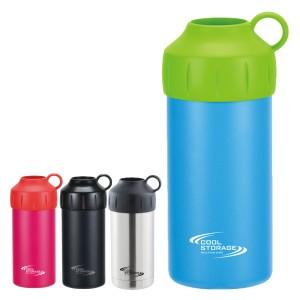 ペットボトルクーラー 保冷 クールストレージ 500・600ml兼用 ( 保冷カバー ボトルカバー ボトルホルダー ステンレス 500ml 600ml ペッ