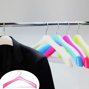 ジャケットハンガー Livido ジャケットストップ42 ( ハンガー 洗濯ハンガー 衣類ハンガー 衣類収納 ジャケット ジャケット用 洋服 )