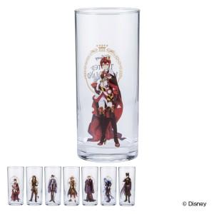 グラス 390ml ツイステッドワンダーランド コップ ガラス ロンググラス 日本製 キャラクター ( タンブラー ディズニー ツイステ 寮長 立