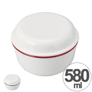 お弁当箱 ランチボウル 2段 丸型 レトロモーダ 580ml ( 弁当箱 ランチボックス 食洗機対応 日本製 ホーロー風 シール蓋付き 二段