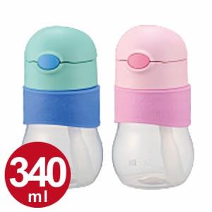 子供用水筒 サーモス(thermos) ベビーストローマグ 340ml NPA-340 プラスチック製 ( ベビー用マグ ストロー付 軽量 ストロホッパー