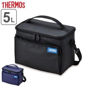 保冷バッグ クーラーバッグ サーモス thermos 折りたたみ 5L ( ソフトクーラー コンパクト 2WAY エコバッグ 5リットル 折り畳み メッシ