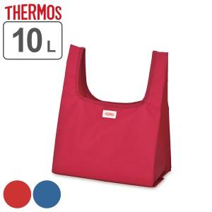 エコバッグ 10L THERMOS サーモス 折り畳み式 ポケットバッグ ( マイバッグ レジバッグ ショッピングバッグ コンビニサイズ コンビニ弁