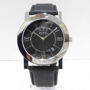 42dcd7092c66 グッチ GUCCI 5200M クオーツ レザーブレス 時計 腕時計 メンズ【中古】