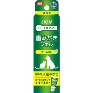 """【SALE】ペットキッス 歯みがきジェル リーフの香り 40g"""