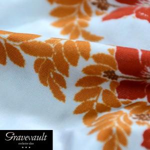 Gravevault グレイブボールト ボクサーパンツ 下着 ローライズ 花柄 ハイビスカス ボタニカル メンズ(サックスブルー青) 3051351