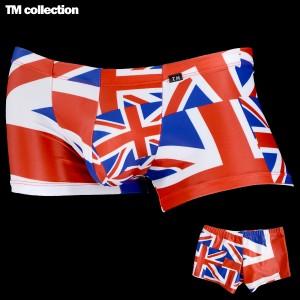 6ea714784c2 swimwear National Flag SWIM BOXER ボクサーパンツ 国旗柄 メンズ ローライズ 下着(ユニオンジャックレッド
