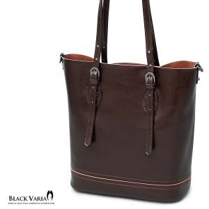 3f716796b19e トートバッグ 牛床革 ショルダーバッグ ビジネストート メンズ 鞄 カバン(ダークブラウン茶