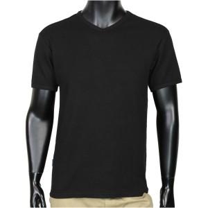 AVIREX Tシャツ 半袖 Vネック  ワッフル無地 デイリー [ ブラック / Sサイズ ][6143149009s]