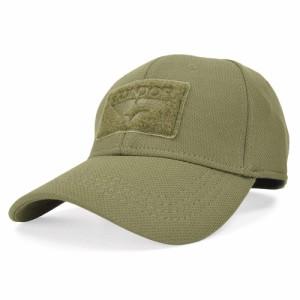 CONDOR 野球帽 タクティカルキャップ フレックス [ オリーブドラブ / Lサイズ ][cdo161080001l]