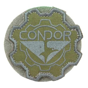 CONDOR パッチ ギア コンドルロゴ ベルクロ [ オリーブドラブ ][co243001]