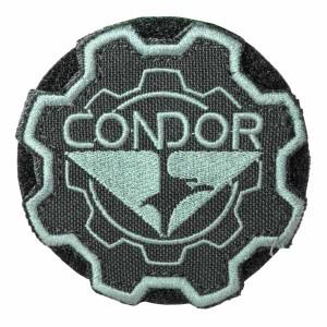 CONDOR パッチ ギア コンドルロゴ ベルクロ [ ブラック ][co243002]