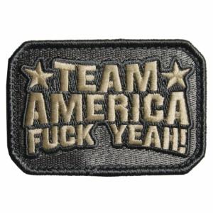 MIL-SPEC MONKEY ミリタリーパッチ Team America ベルクロ付き [ ACU ][pa00005acu]