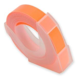 エンボステープ DYMO用 9mmx3m ダイモ [ 蛍光オレンジ ][rm900kor]