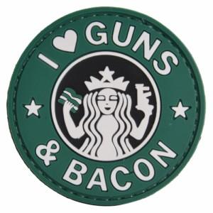 FIVE STAR GEAR ミリタリーワッペン GUNS AND BACON ベルクロ[tsp6713000]