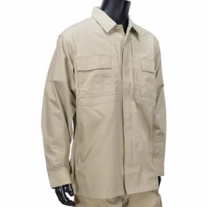 5.11タクティカル TDUシャツ 長袖 リップストップ 72002 [ カーキ / Mサイズ ][5t72002162m]
