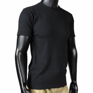 AVIREX Tシャツ 半袖 クルーネック 無地 デイリー [ ブラック / Sサイズ ][6143502009s]