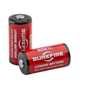シュアファイア リチウム電池 SF123A [ 6個セット ][sf1236]