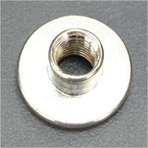 シカゴスクリュー 穴あき シルバー 9.5mm[25091]