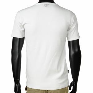 AVIREX Tシャツ 半袖 Uネック 無地 デイリー [ ホワイト / Mサイズ ][6143506001m]