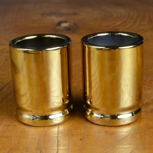 ショットグラス 50口径 弾丸型 2個セット[cbg1002]