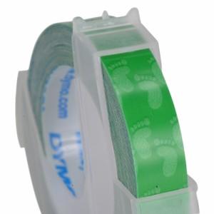 DYMO グロステープ 9mm幅×3M ベビーフットパープル [ グリーン ][dm0903fgr]