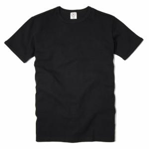 AVIREX Tシャツ 半袖 クルーネック 無地 デイリー [ ブラック / Lサイズ ][6143502009l]