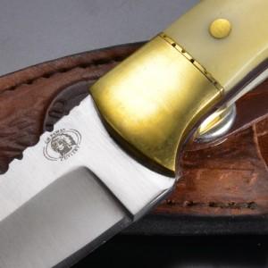 スキナーナイフ ホワイトスムースボーン 直刃 サージカルステンレス[fgw3778sb]