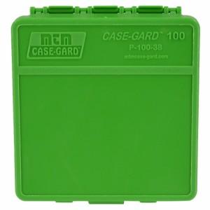 MTM ハンドガン用 弾薬ケース 100発収納 [ P-100-38 / グリーン ][mtmp100310]