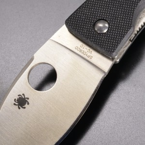 Spyderco 折りたたみナイフ リルラム VG-10 直刃 G10ハンドル[sc16650]