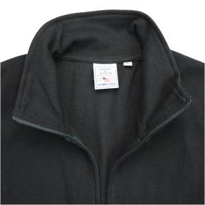 AVIREX スタンドリブ・ジャケット 無地 デイリー [ ブラック / XLサイズ ][6103042009xl]