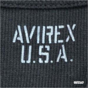 AVIREX タンクトップ 無地 デイリー ワイドバック [ グレー / Lサイズ ][6143507014l]