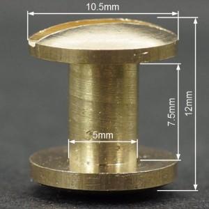 シカゴスクリュー コンチョネジ 12mm[129011]