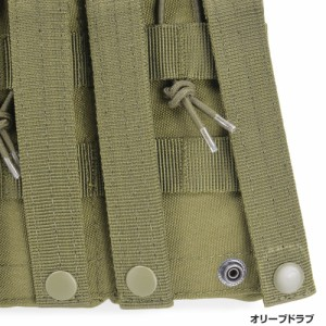 CONDOR ピストル&M4/M16マグポーチ MA55 トリプルカンガルー [ ブラック ][ma55002]