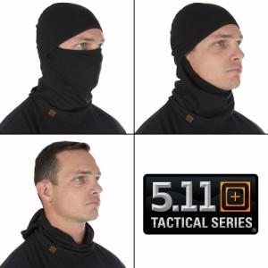 5.11 Tactical フェイスマスク バラクラバ 89430 [ ブラック / S/Mサイズ ][5t89430019sm]