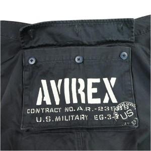 AVIREX ベーシック・エアロパンツ カーゴパンツ [ ブラック / Sサイズ ][6106044008s]