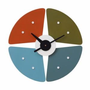 ジョージ・ネルソン ペタルクロック tim-000397 /北欧/インテリア/セール/モダン/送料無料/激安/ナチュラル  掛け時計/掛け時計/おしゃ