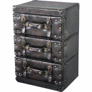 トランク チェスト3D az-iw-873 /北欧/インテリア/セール/モダン/送料無料/激安/ナチュラル  収納ボックス/収納ケース/収納ボックス/フタ