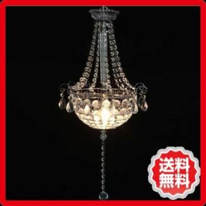 シャンデリア1灯 BS284−459 クリア fj-94453 /北欧/インテリア/セール/モダン/送料無料/激安/ナチュラル  ライトブルー/ライト