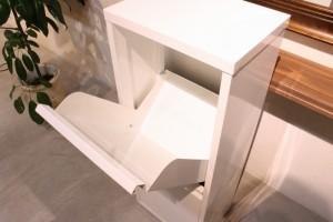 ダストボックス 3分別 薄型 スチール製 キッチン ゴミ箱 sei-ds-77  /ゴミ箱/分別/おしゃれ/ふた付き/屋外/キッチン/リビング/木/密閉/収