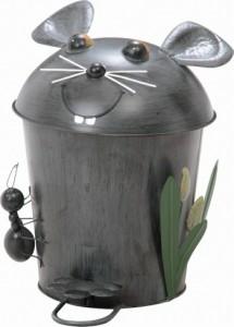 ダストビン マウス fj-30269  /ゴミ箱/分別/おしゃれ/ふた付き/屋外/キッチン/リビング/木/密閉/収納/北欧/インテリア/セール/モダン/送