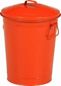 マルチダスト缶 12L レッド fj-90961  /ゴミ箱/分別/おしゃれ/ふた付き/屋外/キッチン/リビング/木/密閉/収納/北欧/インテリア/セール