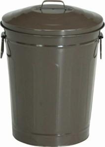マルチダスト缶 12L ブラウン fj-90964  /ゴミ箱/分別/おしゃれ/ふた付き/屋外/キッチン/リビング/木/密閉/収納/北欧/インテリア/セー