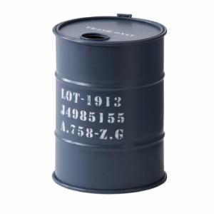 トラッシュカン ネイビー az-lfs-440nv  /ゴミ箱/分別/おしゃれ/ふた付き/屋外/キッチン/リビング/木/密閉/収納/北欧/インテリア/セール/