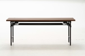 会議テーブル ハイタイプ 4570D ブラウン fj-94464 /北欧/インテリア/セール/モダン/送料無料/激安/ナチュラル  テーブル/折りたた
